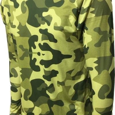 Camisetas com Repelente e UV /CAMUFLADA