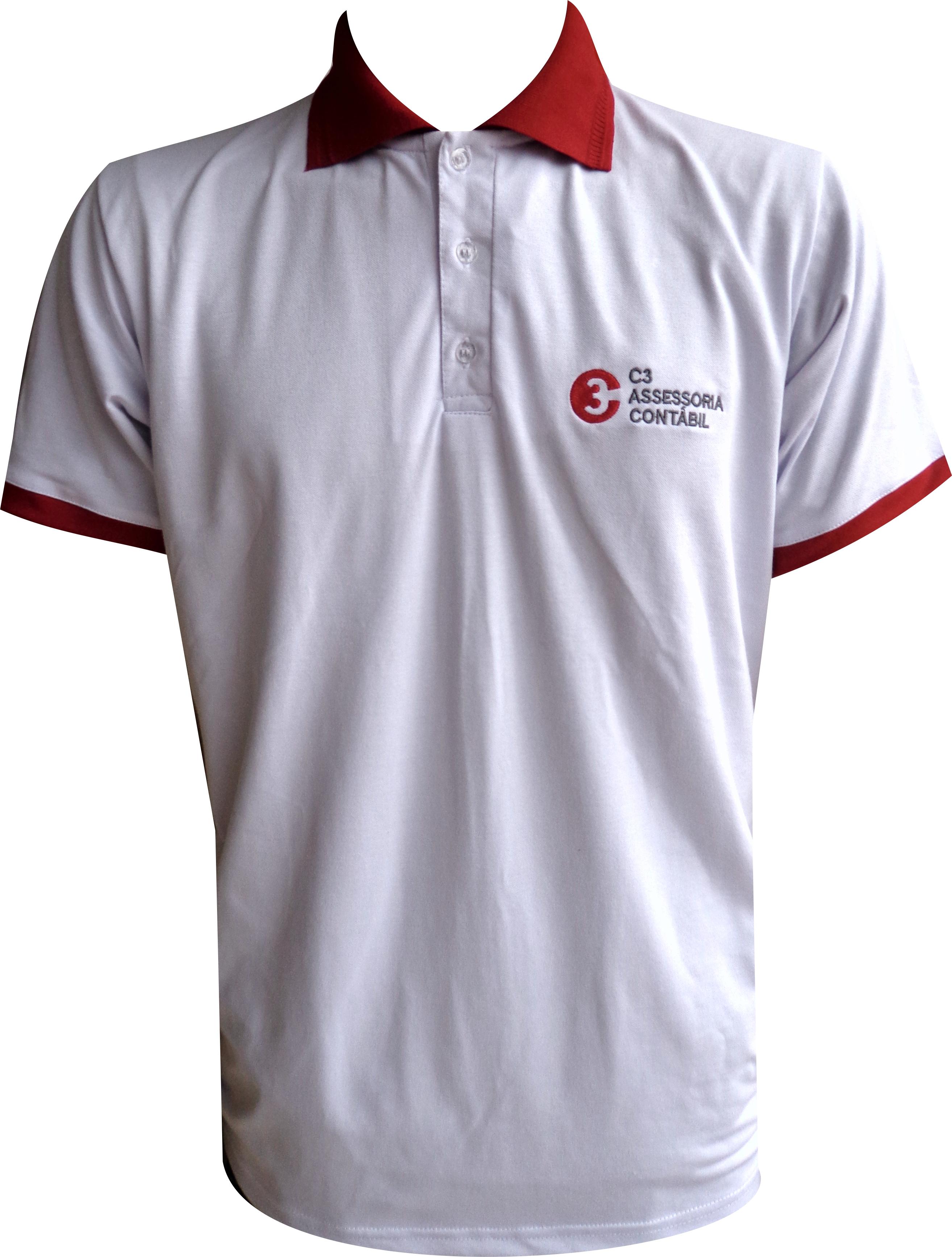 Marcelo Uniformes - Camisa Polo em Piquet com elastano 6be4d9ebc856e